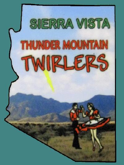 Thunder Mountain Twirlers logo